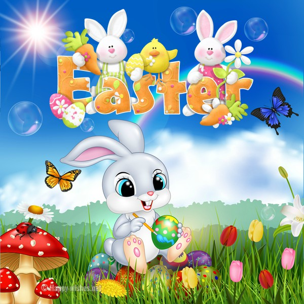 Cute Easter Bunny Images - Happy Easter