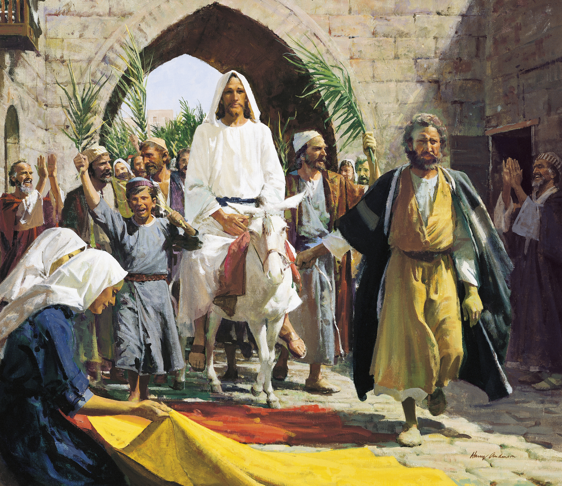 PALM -SUNDAY-JESUS-ENTRY IMAGES