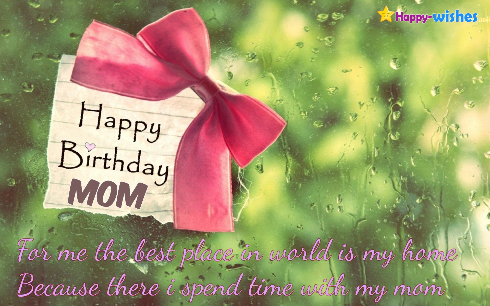 Happy Birthday Wishes for Mom -Quotes, images and Memes ...