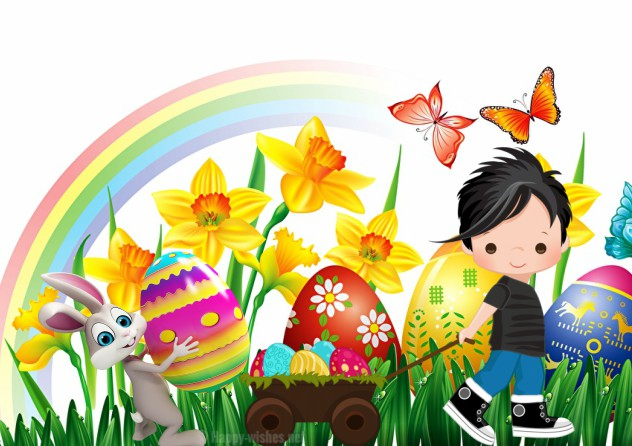 Happy Easter Beautifull Clip Art Images - Easter Bunny