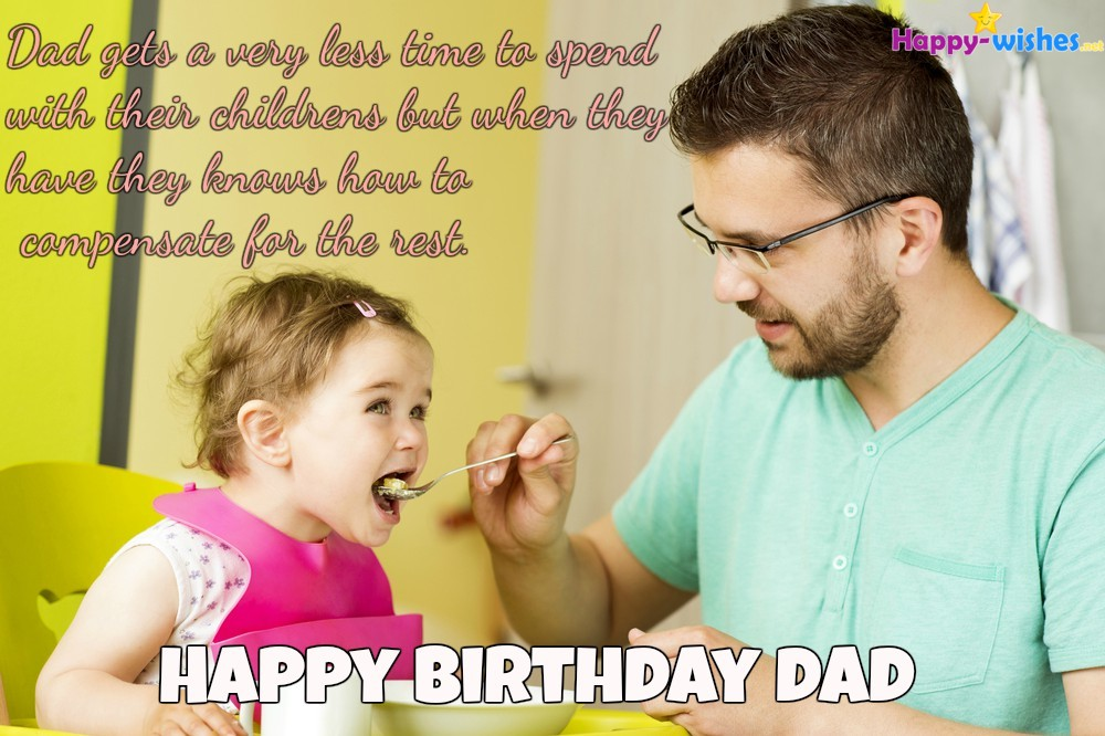 Happy Birthday Wishes For Dad - Quotes, Images and Memes