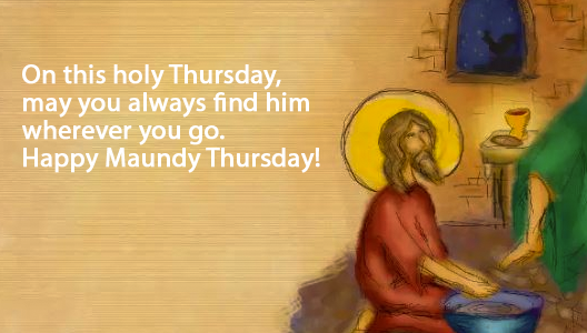Maundy Thursday quote