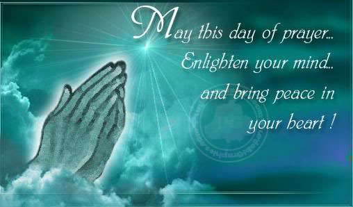 good friday - May this day of prayer, enlighten your ming