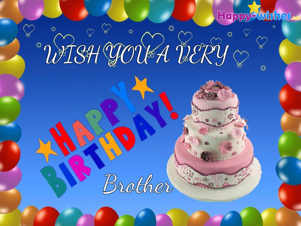 128+ Happy Birthday Wishes for Brother - Quotes & Messages