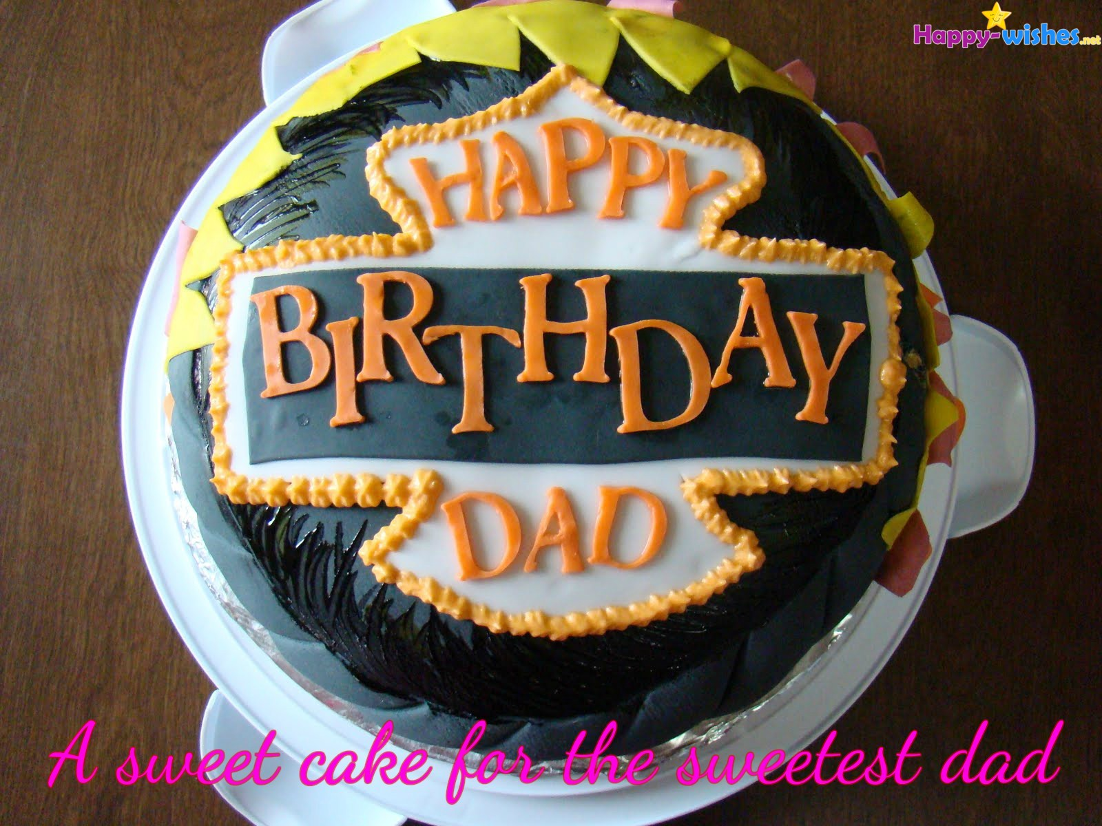 Enjoyable Happy Birthday Wishes For Dad Quotes Images And Memes Funny Birthday Cards Online Alyptdamsfinfo