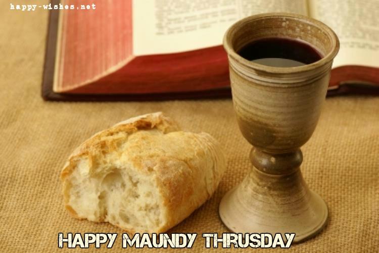 Happy Maundy Thursday Wishes