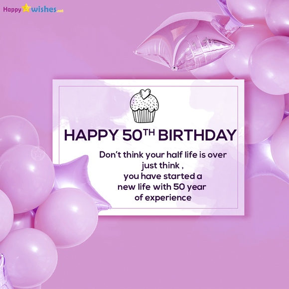 50th Birthday motivating quotes