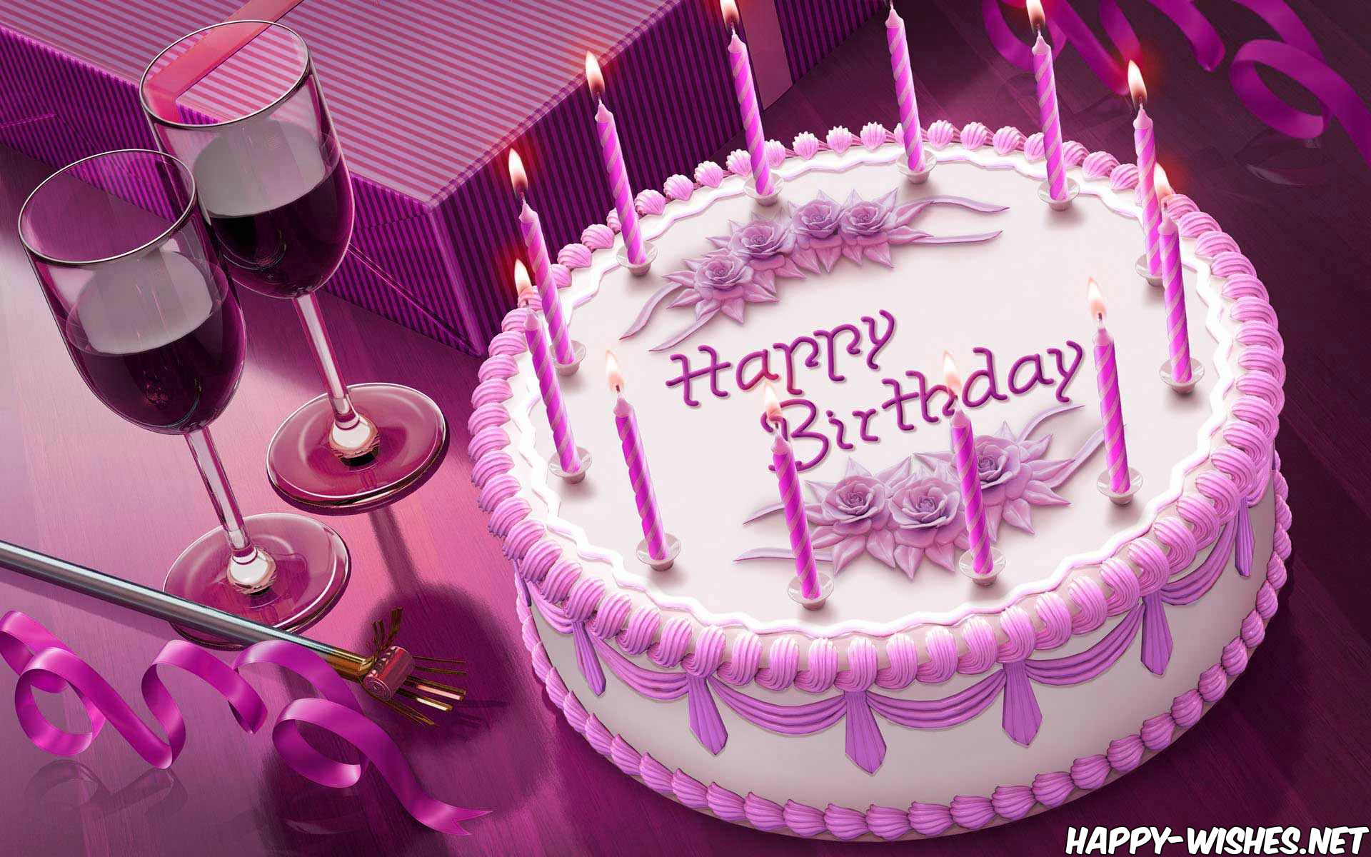 Groovy 21 Beautiful Birthday Cakes Images Funny Birthday Cards Online Alyptdamsfinfo