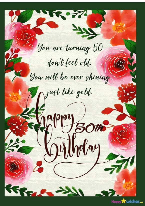 Happy Golden Birthday Wishes Quotes