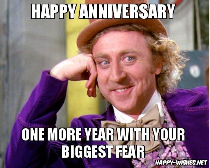 Happy Anniversary Memes Funniest Collection