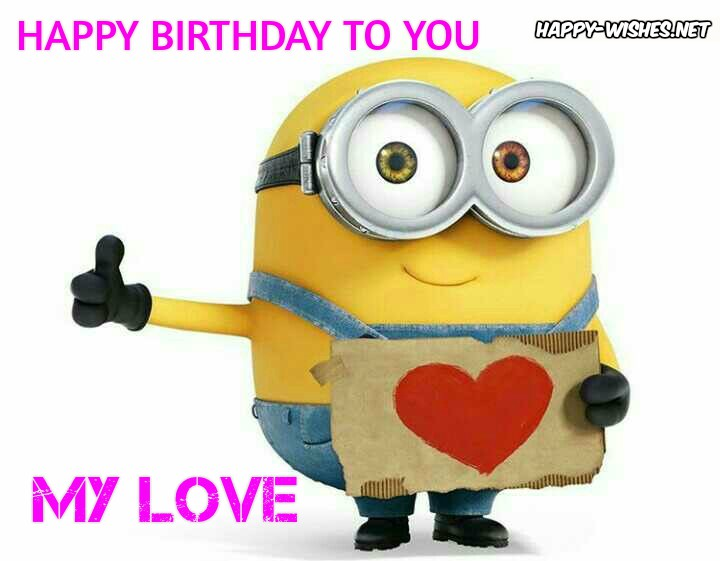 happy birthday minion images