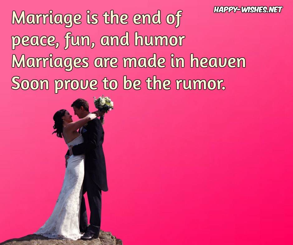 Funny Marriage Advice - Quotes and Messages