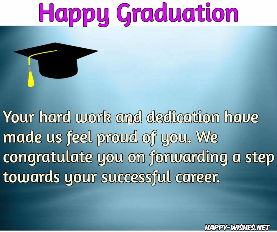 Happy Graduation Wishes - Quotes and images