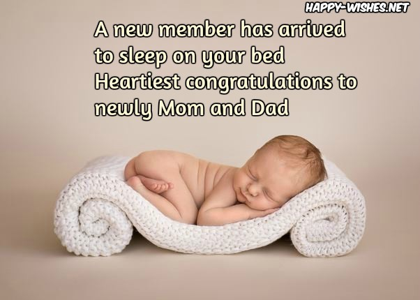 newborn baby congratulations wishes