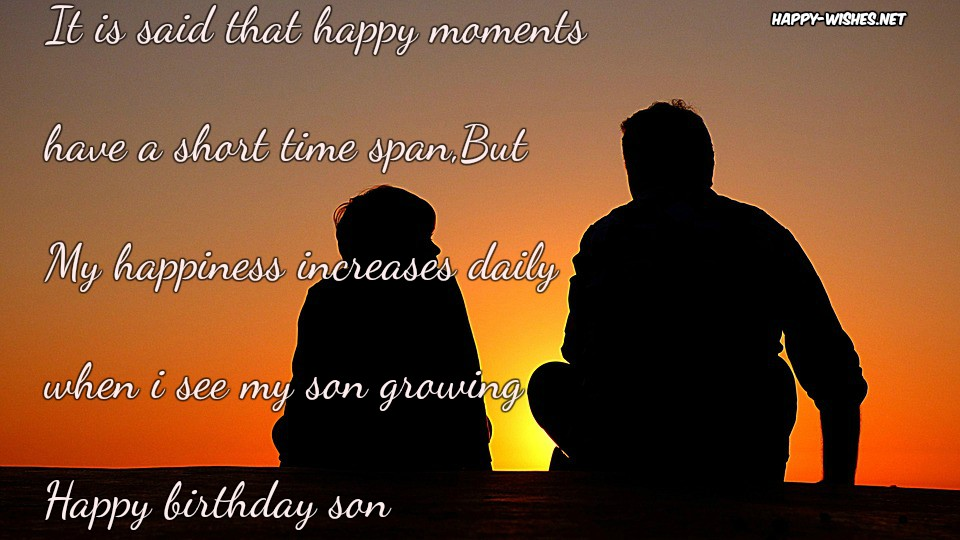 Happy Birthday Wishes For Son - Quotes & Messages