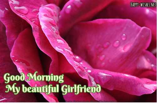Best good morning wishes For Girlfriend
