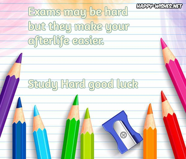 Exams Wishes Quotes With Images