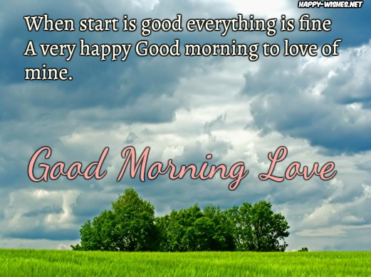 Happy Good Morning Wishes To You