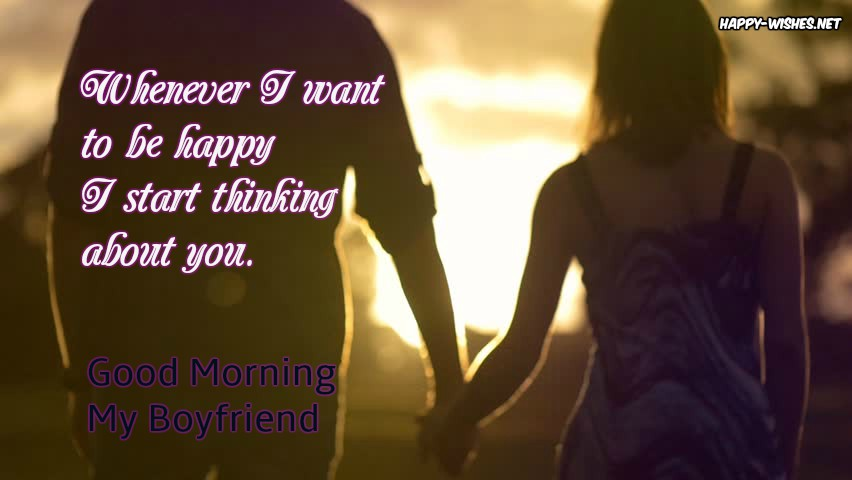 Best good morning wishes For Boyfriend