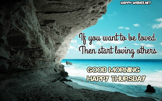 Good Morning wishes on Thursday quotes