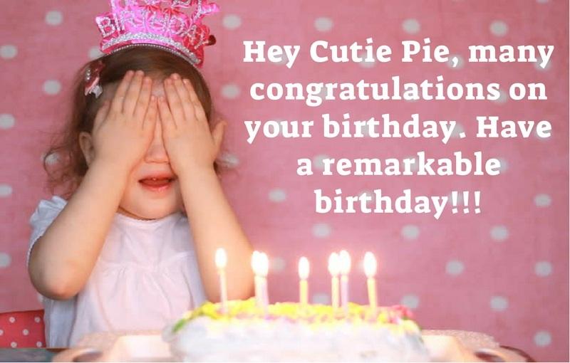 Happy Birthday to my cutipie