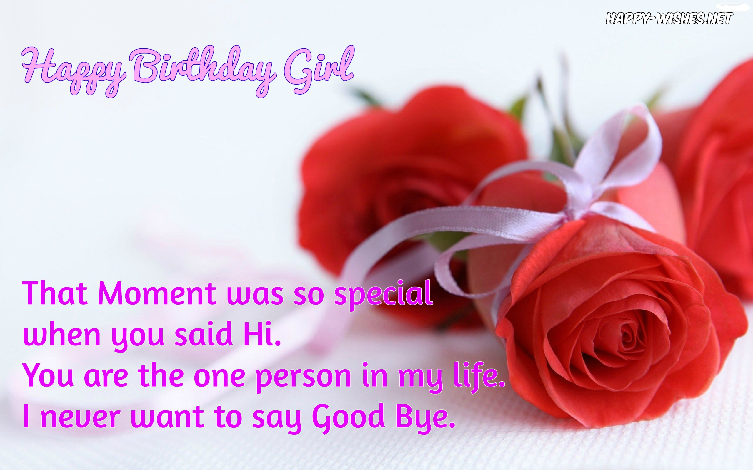 Happy Birthday Wishes For Girlfriend - Quotes & Messages