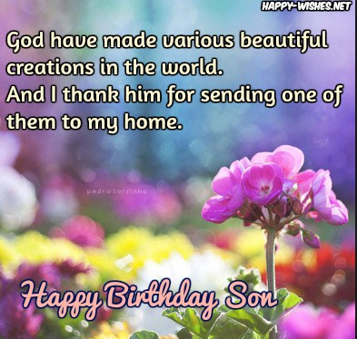 Religious Birthday Wishes For Son