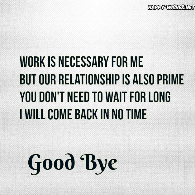 Quotes about saying Goodbye