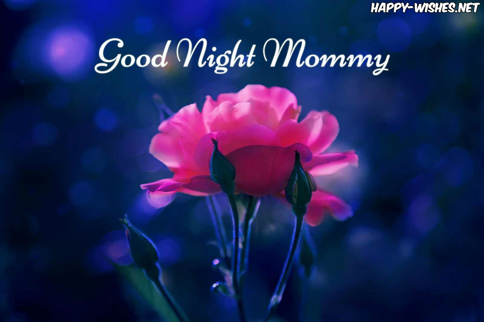 Good night mom wishes images