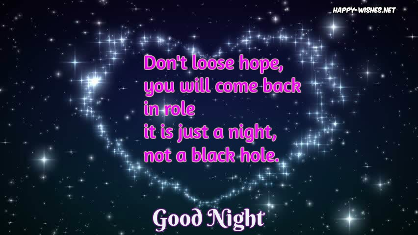 Best Good Night And Good Luck Wishes