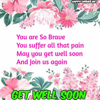 57+ Get Well Soon Messages & Quotes