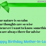 Happy birthday quotes for Mother-in-law