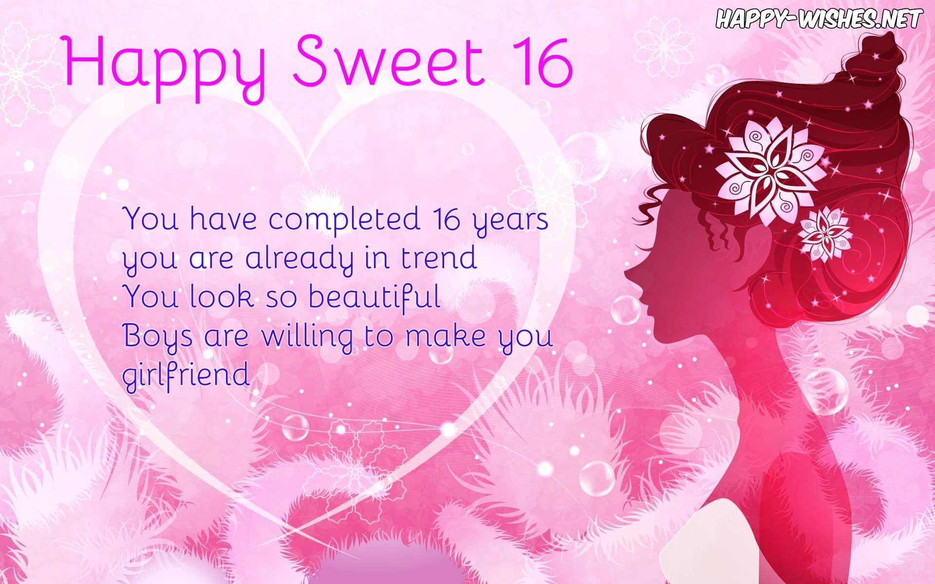 best Happy Sweet 16