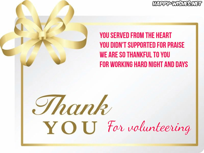Thank you for volunteering images
