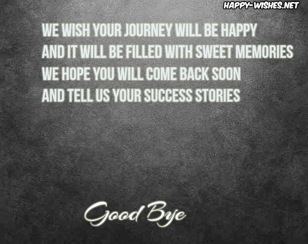 best Quotes about saying good bye