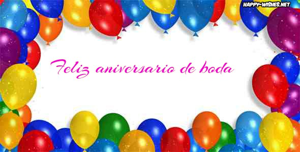 Best Happy Anniversary images in spanish