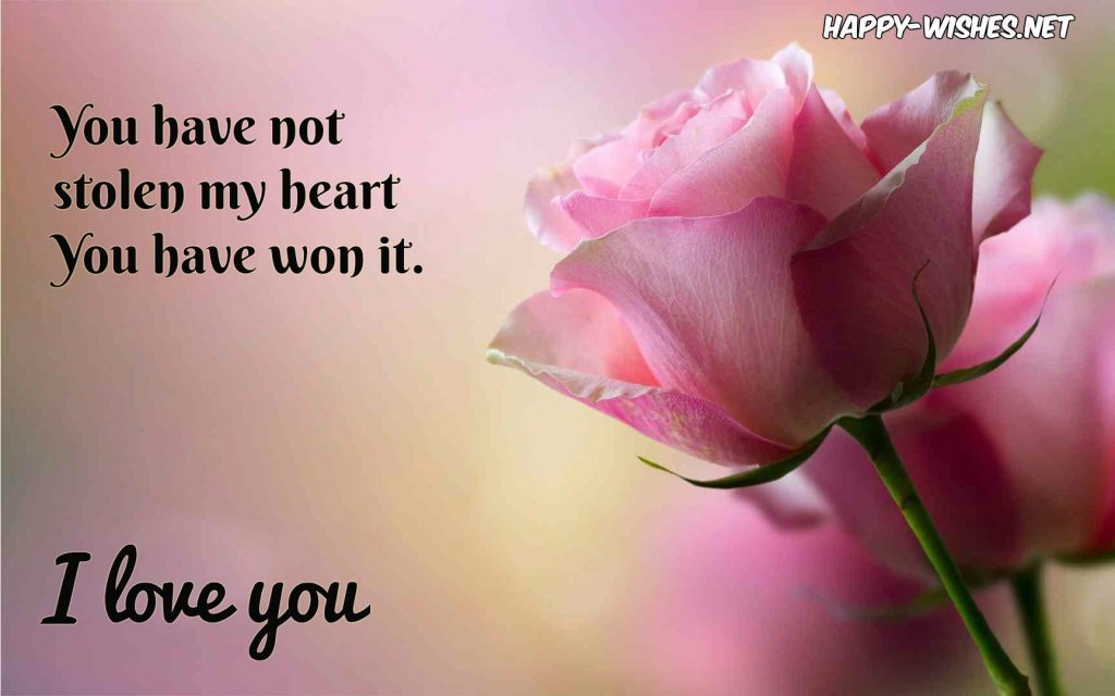 Romantic messages For her