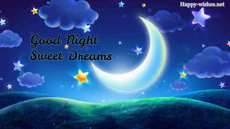 Good NIGHT sweet dreams cutre images