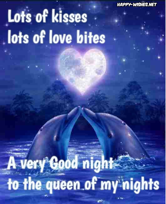 Best Romantic Good Night messages for her