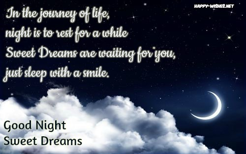 best wishes Romantic Good night wishes quotes