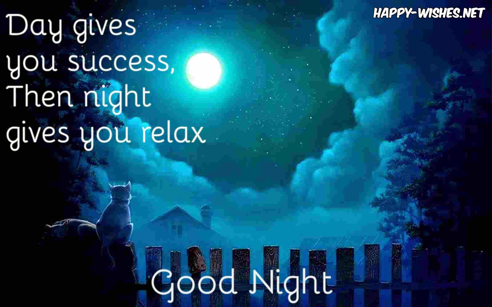 Good nightw ishes
