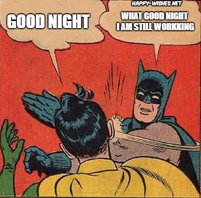 funny good night memes batman