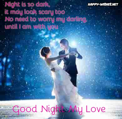 Best Romantic Good Night messages for love