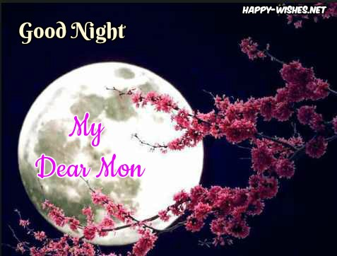 Good Night message for mom