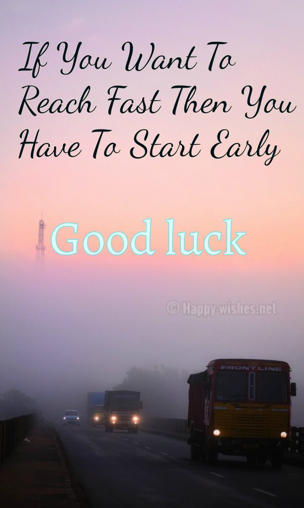 Best Inspirational Good Luck Wishes