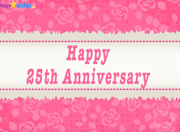 Happy 25th Anniversary Image