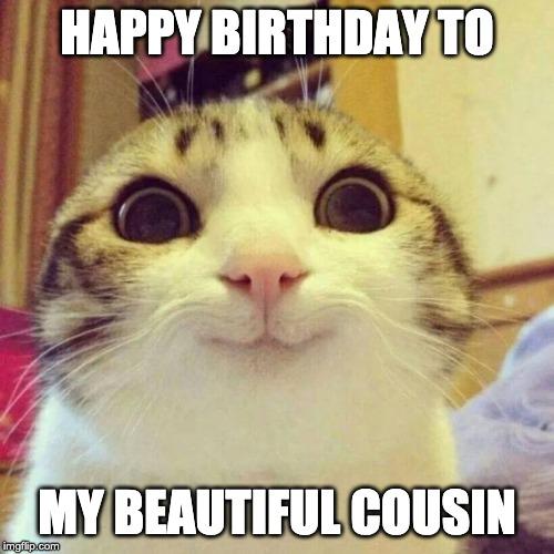 Happy Birthday to my beautiful cousin