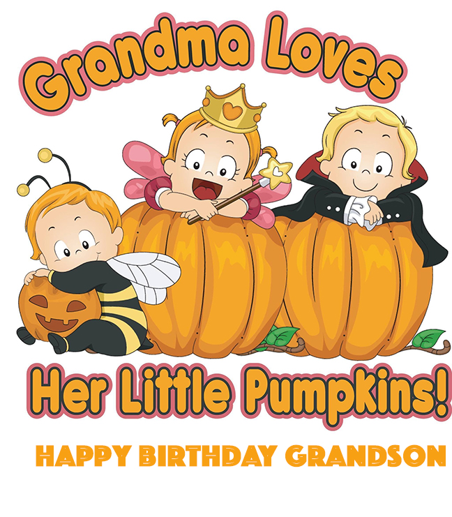 Happy Birthday wishes for grand son