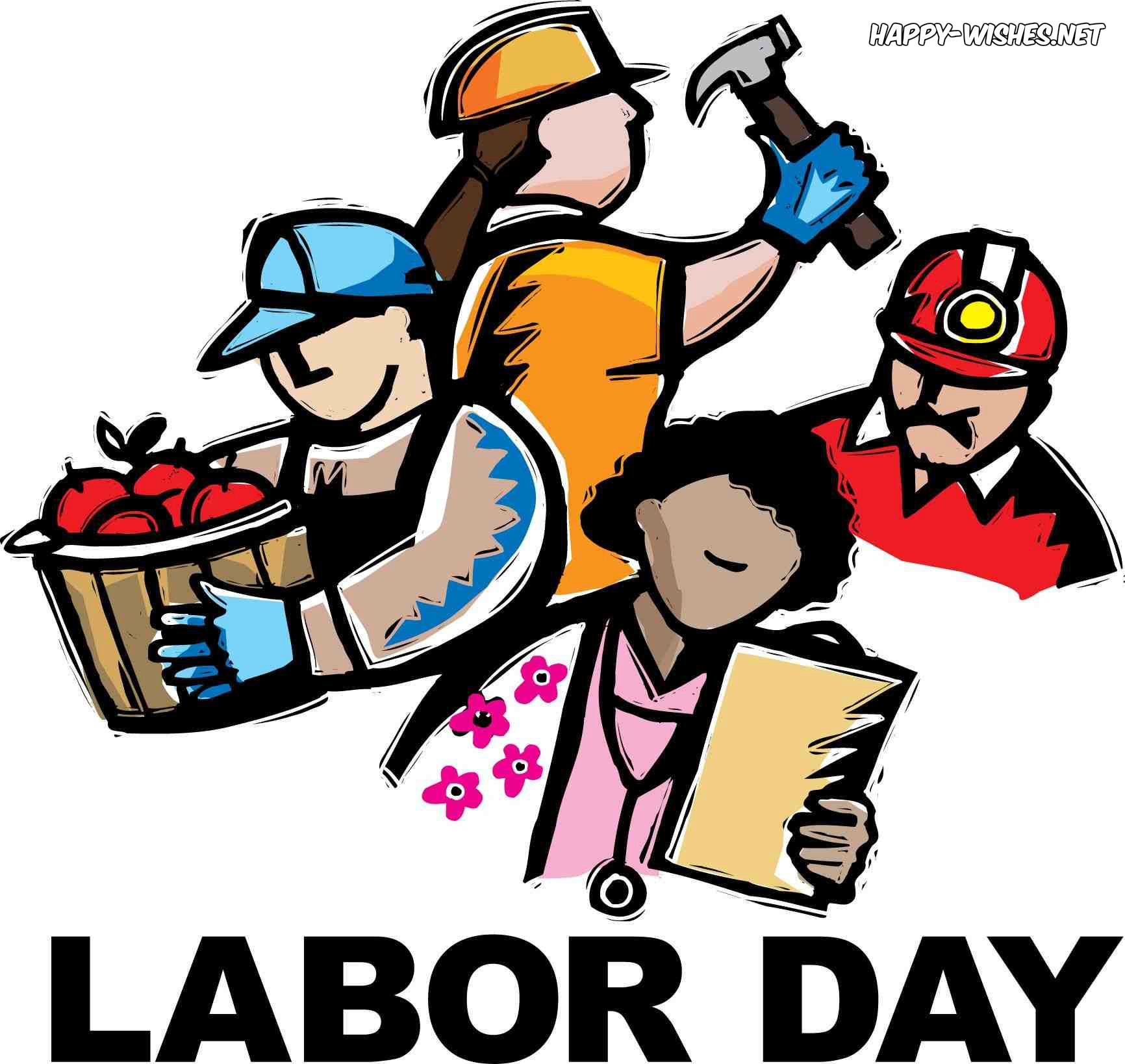 Labor Day Clip art Images containing employees