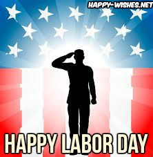 best Labor Day pictures with worker doing salute